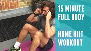 Full Body Fat Burning Home HIIT | The Body Coach by The Body Coach TV