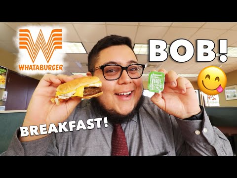 Does Whataburger's BOB satisfy my hunger? – Fast Food Review – Full Nelson Eats A Lot #FoodReview