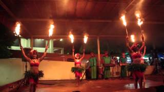 preview picture of video 'Traditional Fire Chamorro Dancers in Guam.'