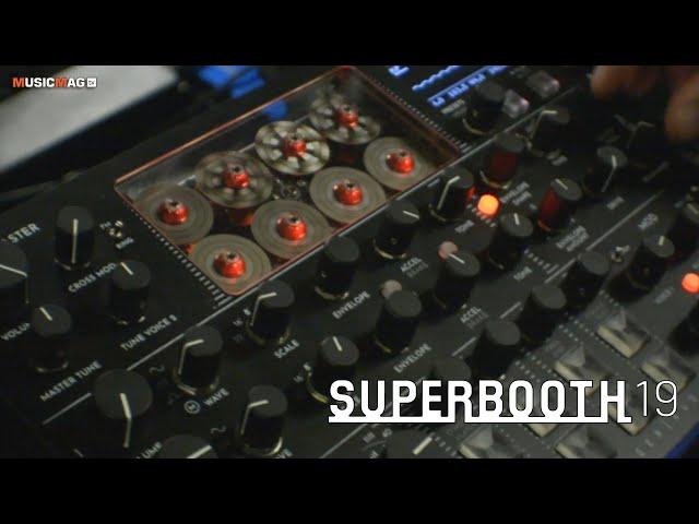 Gamechanger Audio Motor Synth: синтезатор на электродвигателях (Superbooth19)