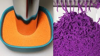 Very Satisfying and Relaxing Compilation 101 Kinetic Sand ASMR
