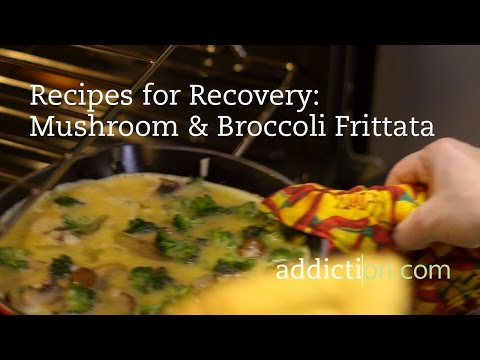Recipes for Recovery: Mushroom & Broccoli Frittata