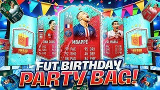 FUT BIRTHDAYS ALL IN PACKS!! GUARANTEED FUT BIRTHDAY PARTY BAG PACKS!! FIFA 20 Ultimate Team