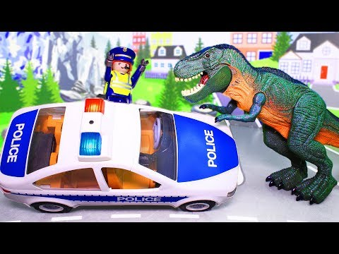 Динозавры мультики с игрушками – Огнедышащий динозавр! Мультфильм для детей видео