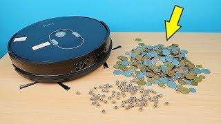 Робот Пылесос Ilife A7 против Железных шариков и Монет! alex boyko