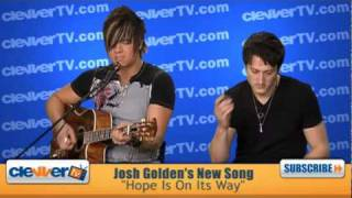 "Josh Golden Performs ""Hope Is On Its Way"""