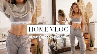 *QUARANTINE* COSY & CHILL DAY AT HOME VLOG | LA Diaries #18