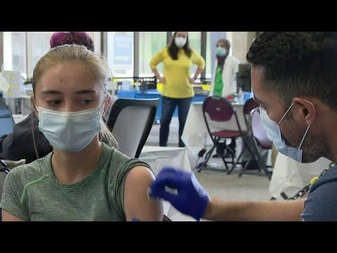 Children 12 to 15 receive Pfizer's COVID-19 vaccine