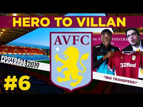 HERO TO VILLAN | PART 6 | MASSIVE NEW SIGNINGS | Football Manager 2019