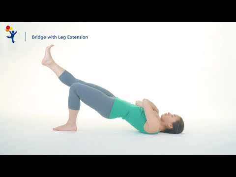 Hip Raise with Knee Squeeze