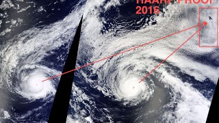 PROOF! Hawaii Hurricane Madeline & Lester MANMADE! HAARP 2016