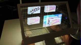 Microsoft и Windows, Applied Sciences Group: Interactive Displays: Behind the Screen Overlay Interactions
