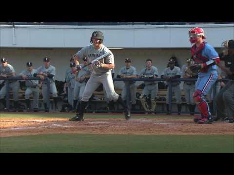 Ole Miss Baseball vs Vanderbilt Highlights (3/19/17)