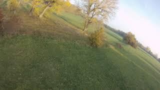 FPV Practice on the meadow 2.