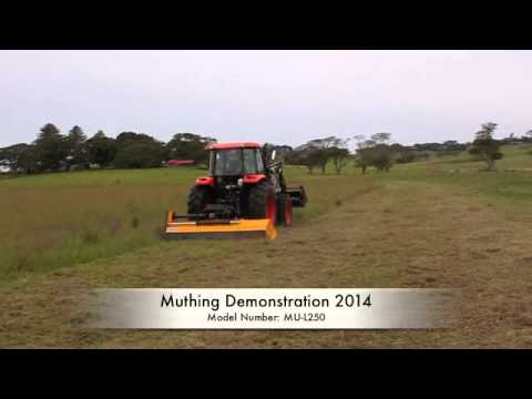 Muthing Mulcher -MUL-250 Flail Mower