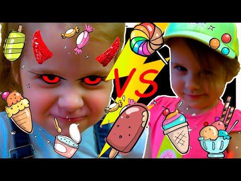 Ева и мама играют в магазин МОРОЖЕНОГО для ДЕТЕЙ and Eva Pretend play selling plastic ice cream (видео)