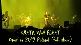 GRETA VAN FLEET Full Show OPEN'ER FESTIVAL 2019 POLAND Live