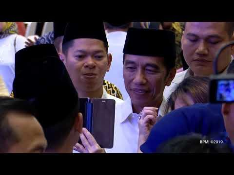 Presiden Jokowi Buka Puasa Bersama di Kediaman Ketua DPD, Jakarta, 15 Mei 2019