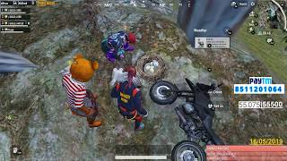 [Hindi]PUBG MOBILE   NOOB RUSH GAME PLAY WITH FULL MASTI   SUBSCRIBE ND JOIN ME