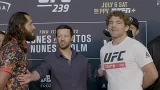 UFC 239: Careos Día De Medios