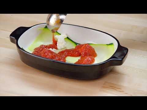 Овощная лазанья: готовим при помощи листовой овощерезки
