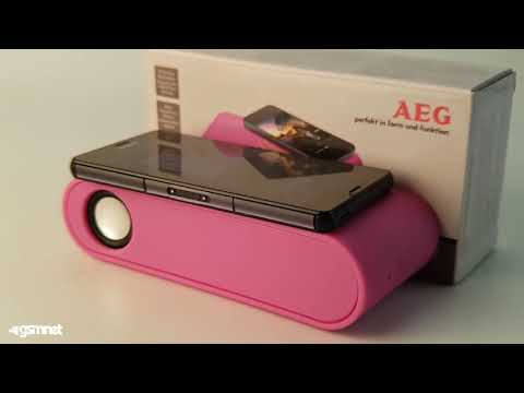 GSMnet.ro - Review Difuzor Wireless Cu Inductie AEG LBI 4719 Ciclam