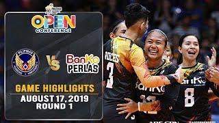 Air Force vs. Banko Perlas - August 17, 2019 | Game Highlights | #PVL2019