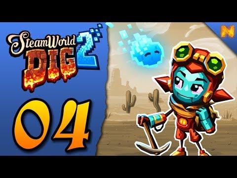 STEAMWORLD DIG 2 #04: Martillo neumático