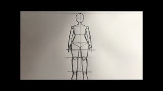 How To Draw Female Anime Body