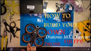 The Definitive Guide to DJI FPV Drones | Diatone MX2 Taycan DJI FPV Build + Walkthrough Build