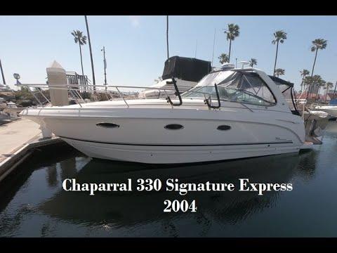Chaparral 330 Signature video