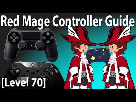 FFXIV Red Mage Controller and Macro Guide [Level 70] - смотреть