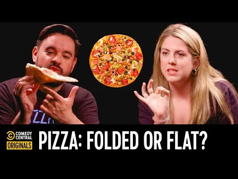 Pizza: Folded or Flat? - Agree to Disagree
