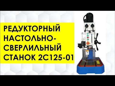 Станок редукторный настольно-сверлильный 2С125-01