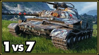 Object 907 - 1 vs 7 - World of Tanks Gameplay