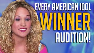 Every American Idol Winner Audition From Kelly Clarkson To Now Video