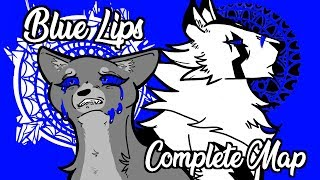 Blue Lips | Complete 72 Hour Blue Eyes White Tigerstar AU MAP