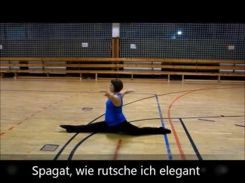 Lernvideo Spagat