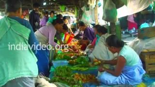 Nagampal - a bustling market in Imphal, Manipur