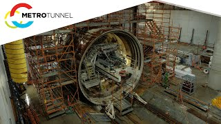 TBM Joan relaunched towards Parkville