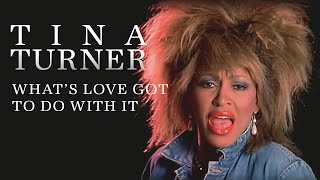 Tina Turner Whats Love Got to Do with It HD REMASTERED Video