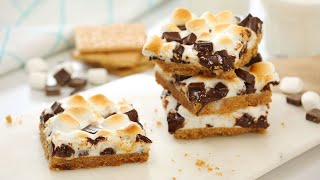 The Best S'more Bars! | Easy & Delicious Summer Baking