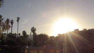 California Desert Sunset Time-lapse