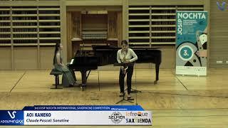 AOI KANEKO plays Sonatine by Claude Pascal