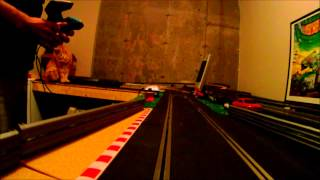 Slot Cars and Cats