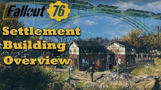 Fallout 76 - Settlement Building Overview - Workshop - Settlement Size - New Items