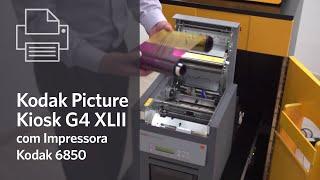 Kodak Picture Kiosk G4 XLII com Impressora Kodak 6850