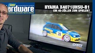 Gaming-Monitor oder nicht? Iiyama X4071UHSU-B1 Review / Test