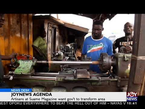 JoyNews Agenda - News Desk on Joy News (17-5-18)