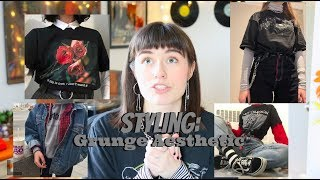 How To Style Grunge Aesthetic Outfits // Tips + 5 Outfit Ideas